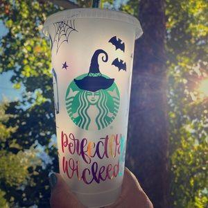 Custom Halloween Starbucks Reusable Cup